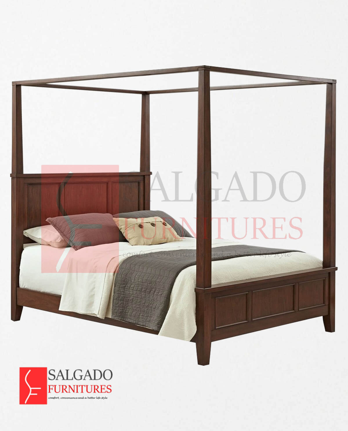 Demian Canopy Bed