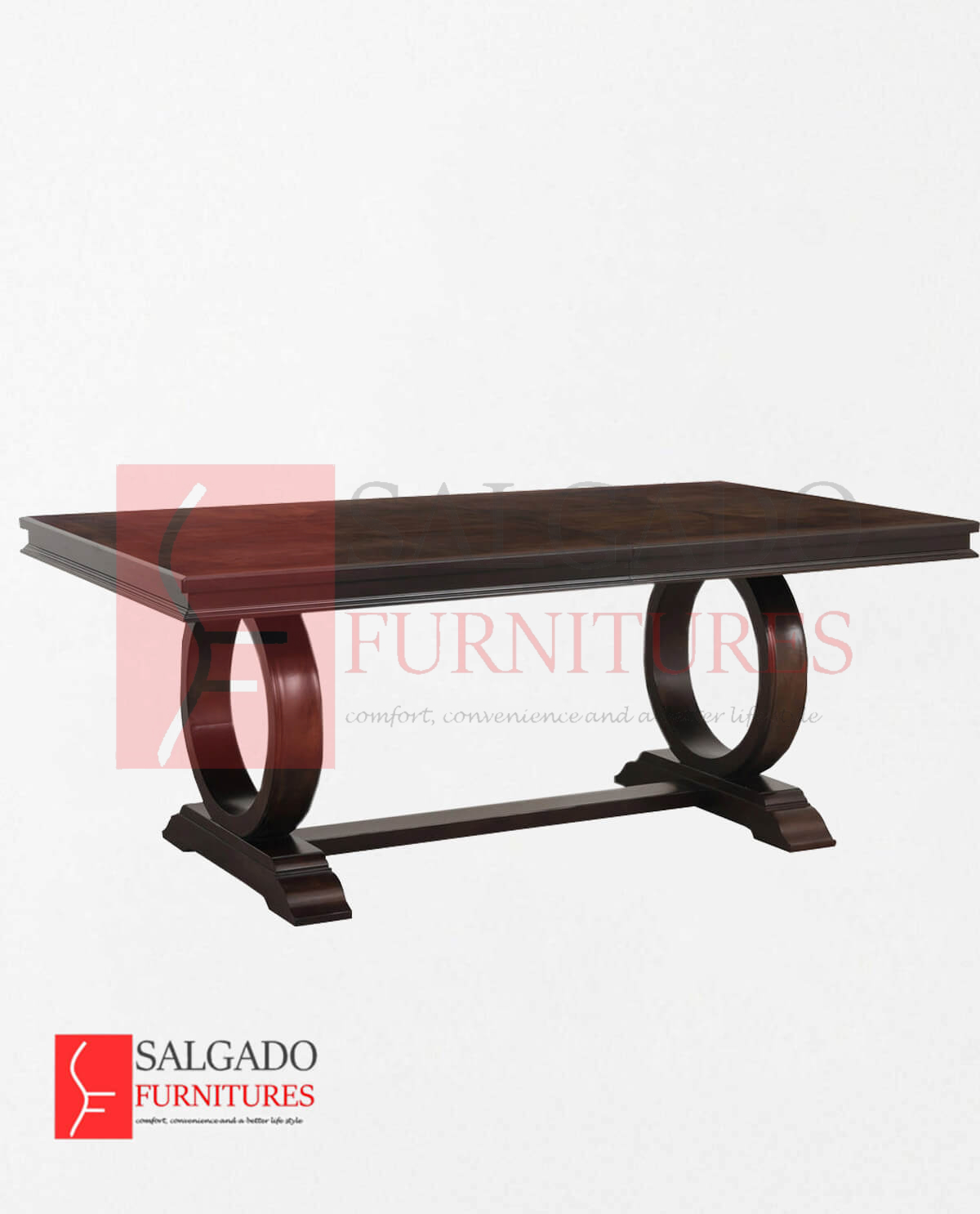 Coast Dining Round Leg Table