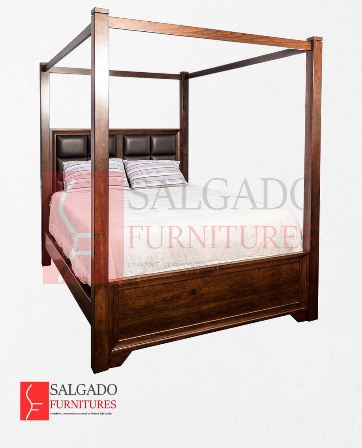 Grand Queen Canopy Bed