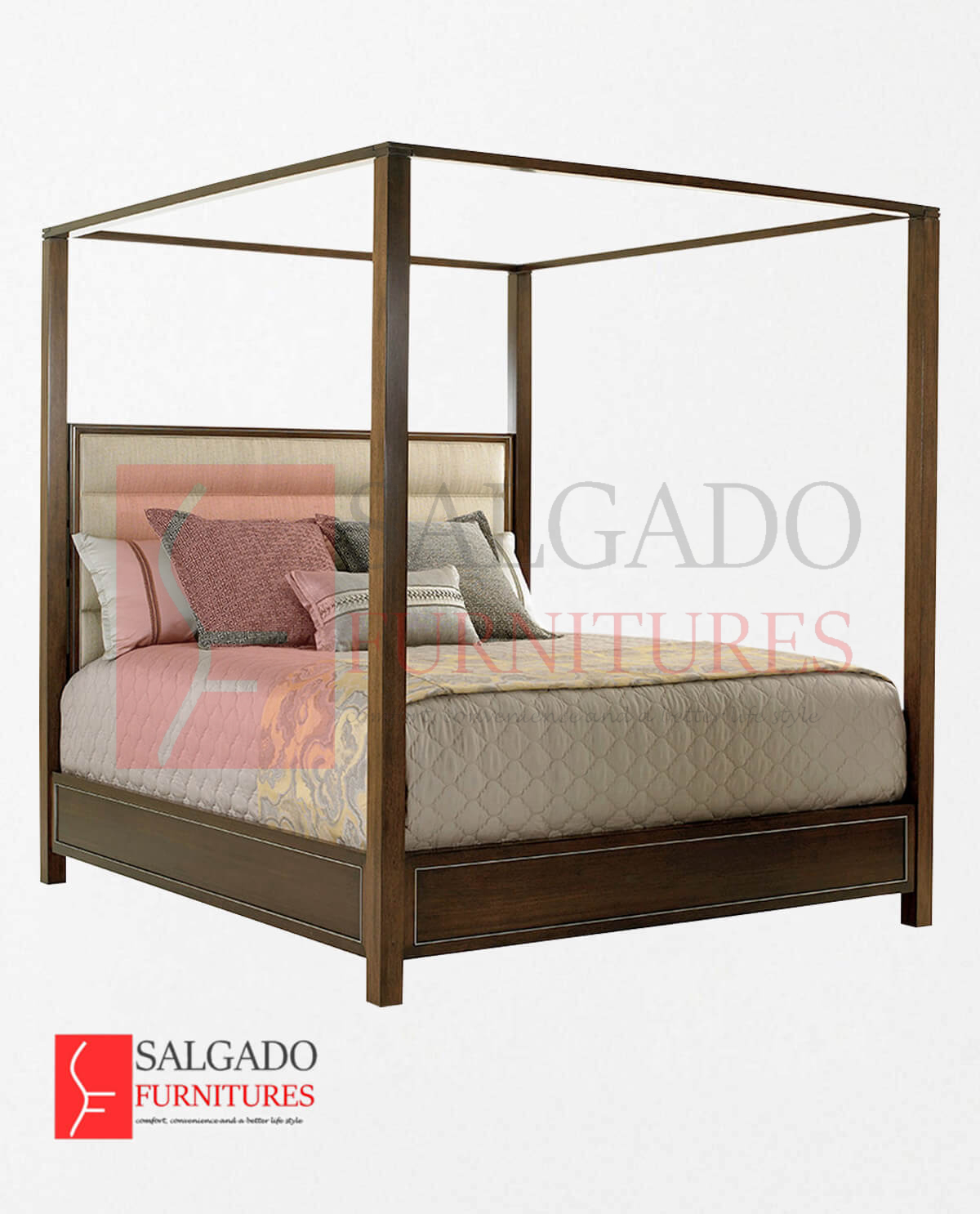 Marcel King Canopy Bed