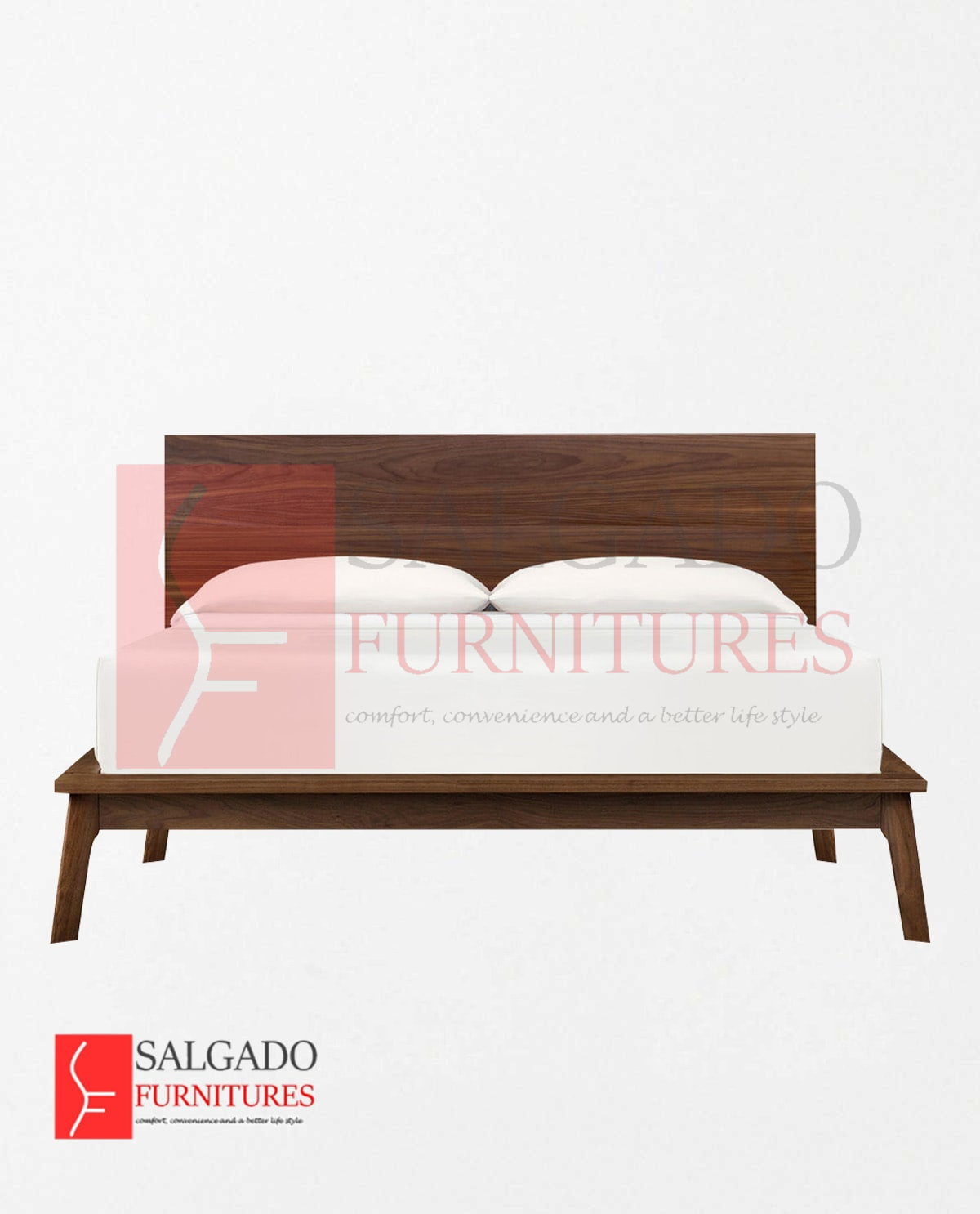 Patalina Bed Walnut, King