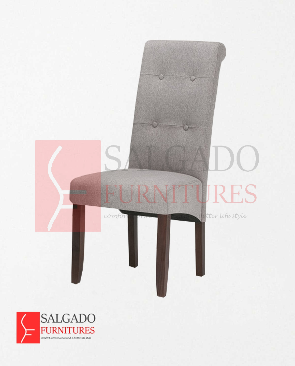 Cosmo Button Tufted Dining Chair