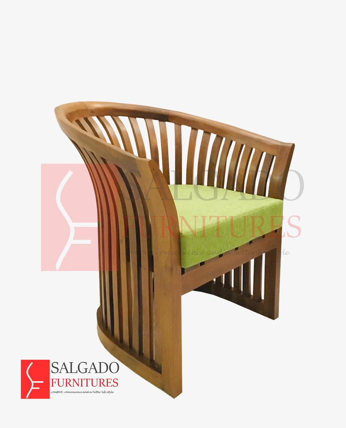 srilanka-varandha-Chair-barrel-Seater-green